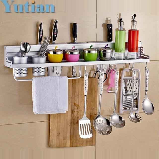 Kitchen Storage Holders Racks Shelf Holder Tool Flavoring Rack Bathroom Yt 9304