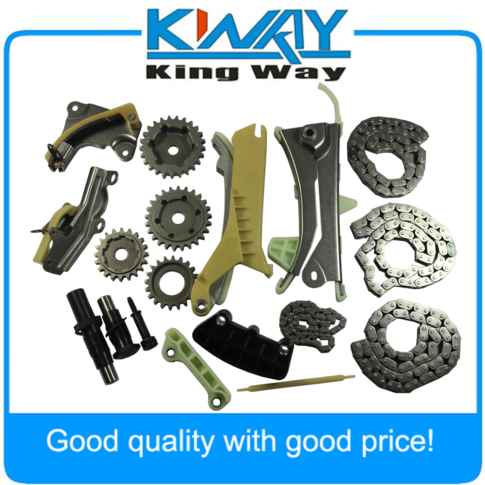 Timing Chain Kit w/ Gears Fit For 97-09 Ford Explorer Mazda Mercury 4.0L SOHC V6 Engine
