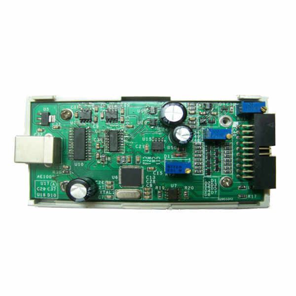 I2C SPI CAN Uart LHT00SU1 Virtual Oscilloscope Logic Analyzer USB  Connection Line Testing Clamp 128M Memory New