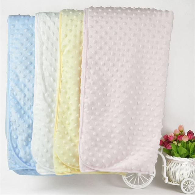 Cobertor Do Bebê recém-nascido Chuveiro Toalha De Flanela Receber Cobertores Do Bebê Swaddle Envoltório Macio Manta Bebes Criança Dormindo Wraps cobertor BL1