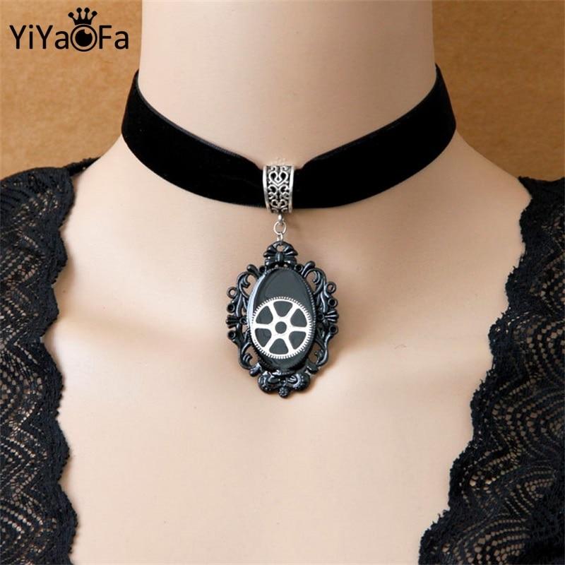 YiYaoFa Dark World Halloween Jewelry Design Necklace ...