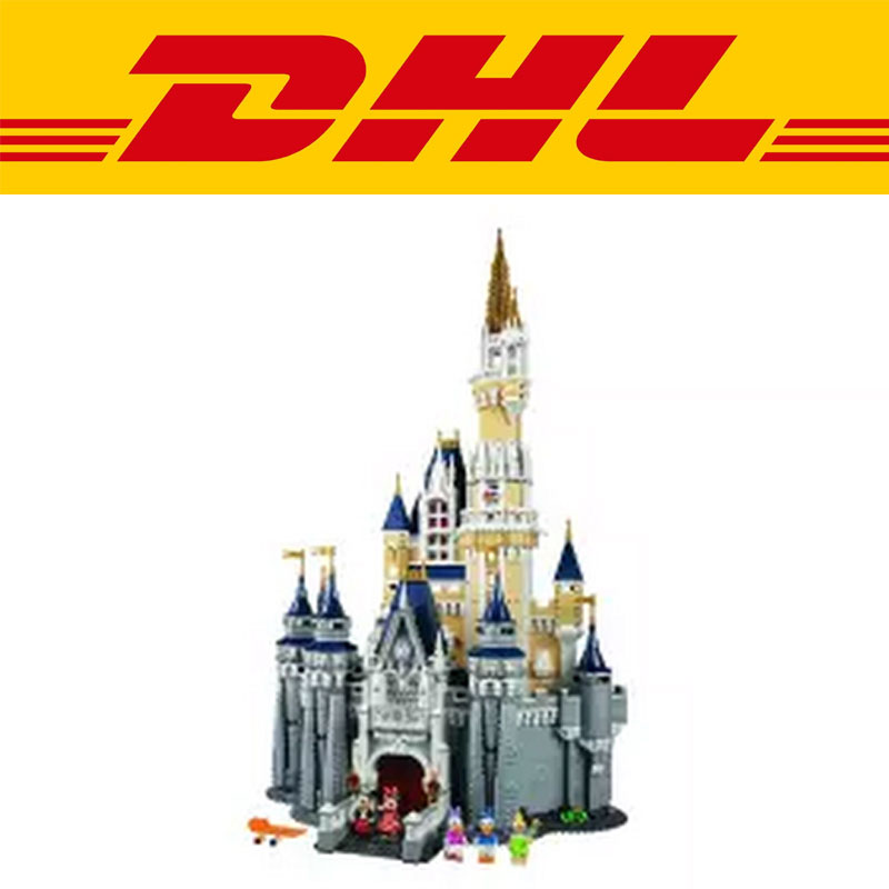 LEPIN 16008 Cinderella Princess Castle City set 4080pcs Model Building Block Kid DIY Toy Funny Birthday Gift  Compatible 71040 lepin 22001 pirate ship imperial warships model building block briks toys gift 1717pcs compatible legoed 10210