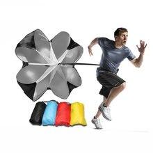 Скоростной тренировочный парашют зонтик для бега футбол тренировка