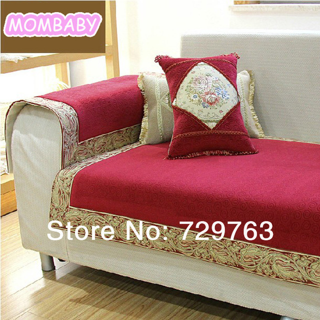 European Antiskid Sofa Cover Towel Embroidered Sofas Covers Cloth Home Decoration 70 180cm