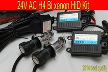Free shipping 24V,35W,H4H/L High low Bi xenon HID headlight kit,top quality,3000k,4300k,6000k,8000k,10000k,truck and so on