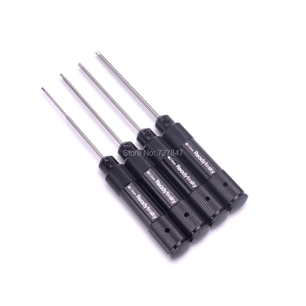 Image 2 - NEW High Quality steel 4 in 1 Steel RC tools Kit Set Screwdriver Set Hex Screw Driver Tools for RC Quadcopter-in Parts & Accessories from Toys & Hobbies