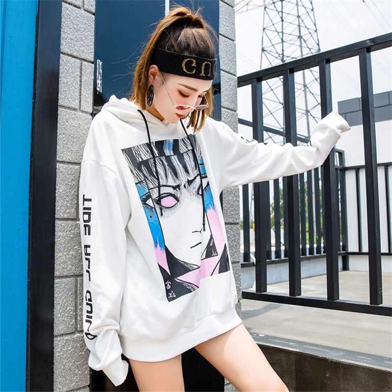 Newautumn одежда в Европы и Соединенные Штаты Европа свободные принтом женщины хип