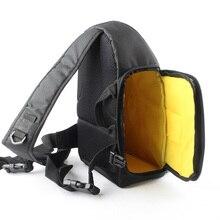 Aslant sırt çantası DSLR kamera çantası Kılıf Canon EOS 80D 70D 60D 6D 77D 760D 750D 700D 650D 600D 550D 5D mark III 5DS 5DR 5D