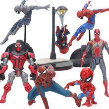 8-18 centímetros Estatueta Spiderman PVC Action Figure the Avengers 3 Infinito Guerra do Regresso A Casa Collectible Modelo Toy Boneca Endgame(China)