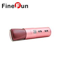 FineFun K104 Mini Portable Professional Recording Mic Microphone Karaoke OK KTV Smart Car Mobile PC IOS of Android
