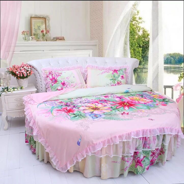 online kaufen gro handel runde kingsize betten aus china. Black Bedroom Furniture Sets. Home Design Ideas