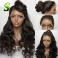 Glueless Full Lace Human Hair Wigs Brazilian Virgin Full Lace Wigs With Natural Hairline and Baby Hair Body Wave Lace Front Wigs