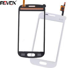 New Touch Screen For Samsung Galaxy Trend Lite S7390 S7392 Digitizer Front Glass Lens Sensor Panel White/Black for samsung galaxy trend lite s7390 s7392 lcd display panel monitor screen repair replacement part free tracking