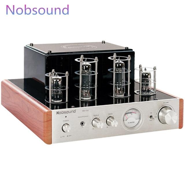 Amplificador valvulado Nobsound MS-10D amplificador de potência de áudio  estéreo de alta fidelidade com 5250a96ce9