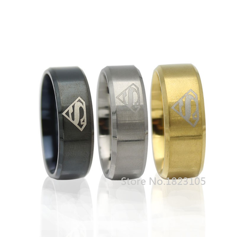 Superman Ring 3 Colours