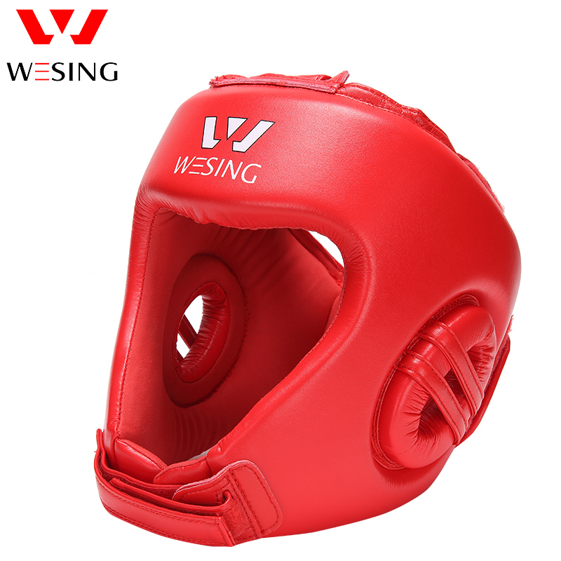 Wesing great protection headguard micro fiber sanda head guard sanda helmet boxing helmet 1001A1