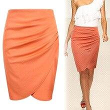 Женский эластичный пояс рубашка приталенная мини юбка весна лето офис VK-ING