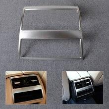 Beler новый Chrome сзади подлокотник коробка Кондиционер Vent Накладка для BMW 5 серии F10 F11 535i 550i 520i 530i 2011 2012-2014