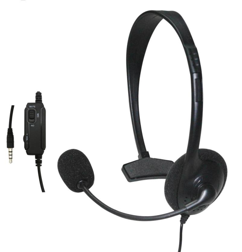 aea1c484d4e Hiperdeal Wired Headset Headphone Earphone Microphone for Sony PlayStation  4 PS4