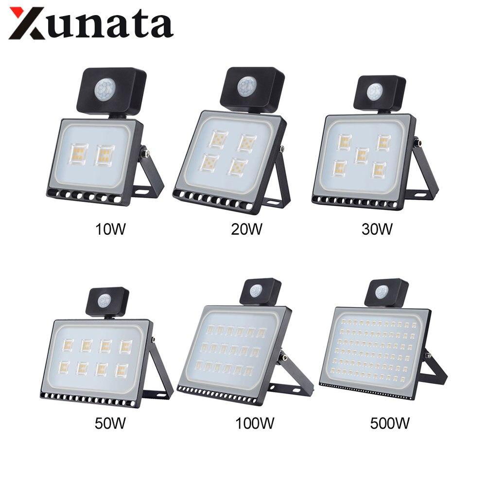 10W 20W 30W 50W 100W IP65 AC220V LED الأضواء في الهواء الطلق سامسونج الاستشعار الصمام ضوء الفيضانات جدار حديقة شارع الأمن أضواء