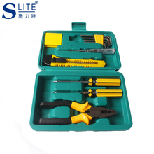 Slite 7pcs Home Hardware Set Repair Combination Manual Toolbox  Tools Carpentry vehicle Multifunctional Repair стоимость