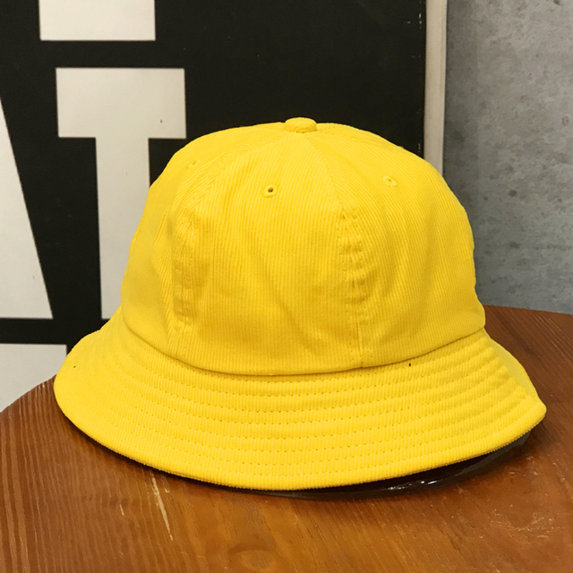 c54b76b6b43 Tanworders Cute Yellow Caps For Students Women Autumn Winter Bucket Hats  Solid Color Corduroy Casual Panama Hat Gorras