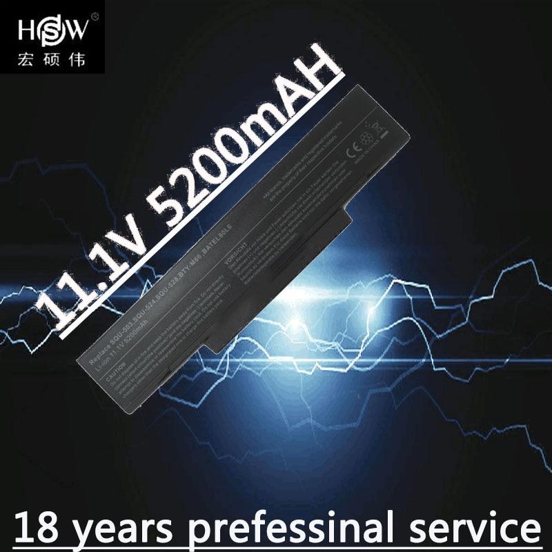 HSW laptop Battery For LG E500 EB500 ED500 M740BAT-6 M660BAT-6 M660NBAT-6 SQU-524 SQU-528 SQU-529 BTY-M66 BTY-M68 battery