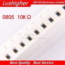 100PCS 0805 SMD Resistor 5% 103 K Ohm 1002 10000ohm 10