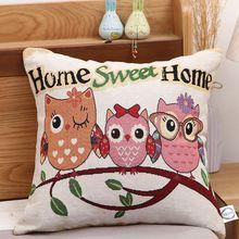 Luxurious linen cotton jacquard pillowcase waist pillow sofa pillowcase decorative pillow embroidery uneven wood print linen sofa pillowcase