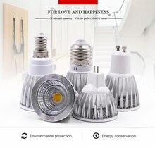 E27 E14 GU10 COB LED spotlight 5W 7W Flood Light 110V Spotlight Fit For Indoor home improvement illumination