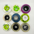 free shipping roller skate wheels 85A 72 76 80MM PU wheel 8pcs per lot