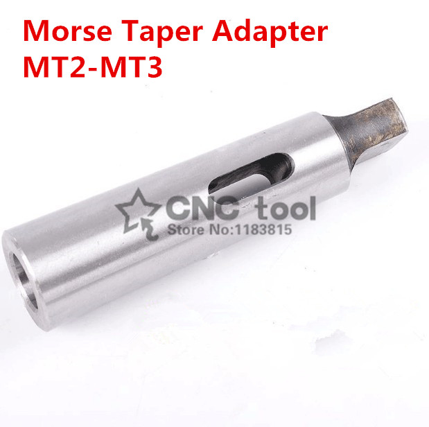 3 to No MT3 to MT2 Morse Taper Extension Adapter Drill Sleeve No 2