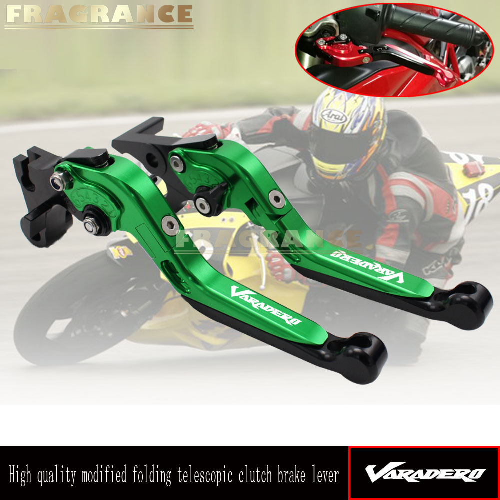 For Honda XL1000 Varadero ABS 1999-2013 CNC Motorcycle Foldable Extending Brake Clutch Levers And Moto 170mm Lever 2000 2001