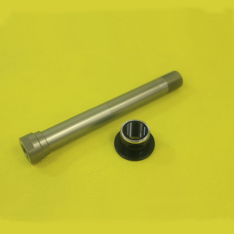New Novatec Steel 135mm x 12mm Thru Axle For D882SB D992SB D542SB Rear Hubs