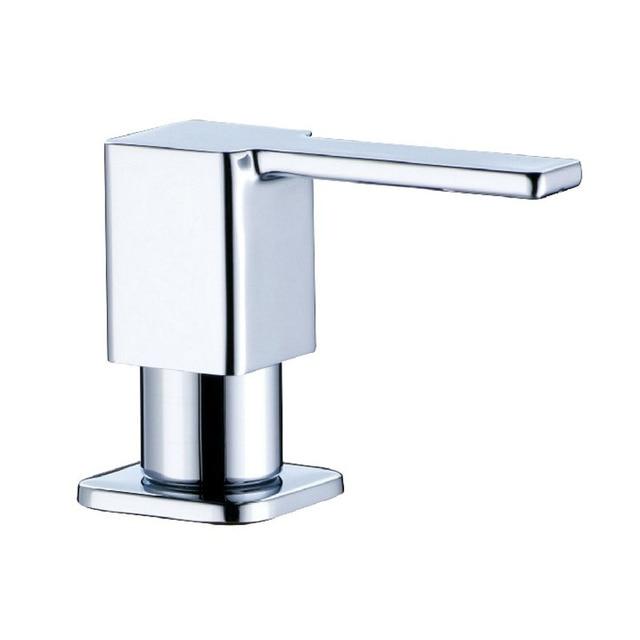 Chrome Br Square Soap Dispenser Fit For Kitchen Sink 3630002