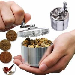 4 warstwy tytoń przyprawa chwasty trawa zioło młyn kruszarki papieros cygaro młynek młyn zapylacz akcesoria do palenia kolor losowo