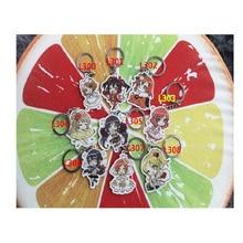 9pcs/set Anime LoveLive! Lovelive Maki Nishikino Kotori Awaken Love Live Keychains Pendant llavero Portachiavi Keychain