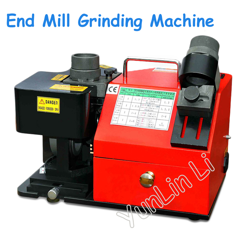 End Mill Grinding Machine Mill Grinder 13-30mm Accurate Rapid and Large End Milling Cutter Machine erm20 end milling cutter 4 20mm tungsten grinders universal grinder automatic grinding machine 220v 1pc
