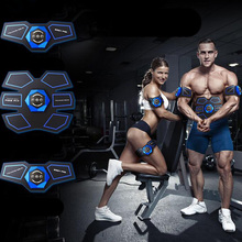 EMS Wireless Muscle Stimulator Trainer USB Rechargeable Fitness Abdominal Training Home Gym Belly Arm Leg Exercise Equipment