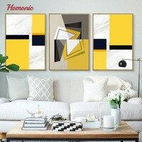 Nordic Modern Geometric Shape Diy Canvas Prints Pictures Abstract Art Decorative Modern Art Painting Restaurant Decoration