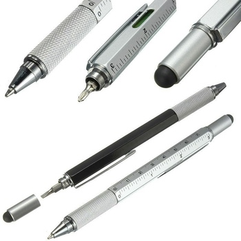 6 in 1 Multi-function Tool Screwdriver Ballpoint Pen Screen Touch Capacities Phone Handwriting Ballpoint Pen Tool Pen sz Color
