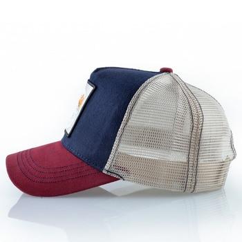 Embroidery Baseball Caps Men 2019 Eagle Snapback Hats For Women Fashion USA Hip Hop Bones Breathable Mesh Streetwear Trucker Cap 2