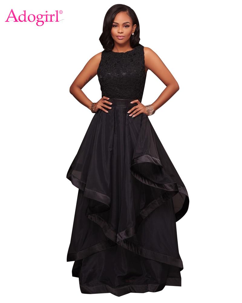 Adogirl Women Off Shoulder Ruffle Mermaid Evening Party Dresses Elegant  Sexy Slash Neck Bodycon Slim Maxi Dress Solid OutfitsUSD 24.75 piece 0861fbb7d8c2