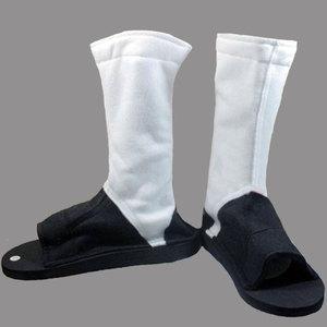 Image 1 - High Quality NARUTO Akatsuki Hidan Itachi Madara Hoshigaki Kisame Deidara Cosplay Costume Shoes Boots Free Shipping