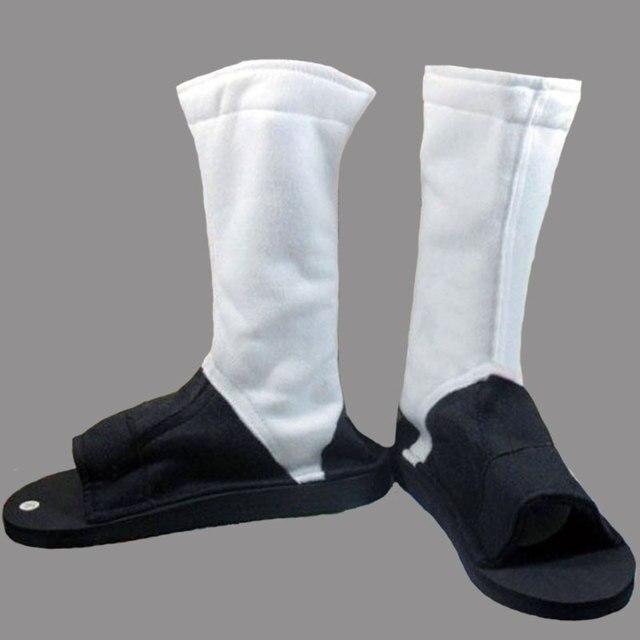 High Quality NARUTO Akatsuki Hidan Itachi Madara Hoshigaki Kisame Deidara Cosplay Costume Shoes Boots Free Shipping
