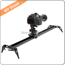 Portable 90cm Sliding-pad Video Camera Track Slider Dolly Stabilizer System for DSLR and Camcorders