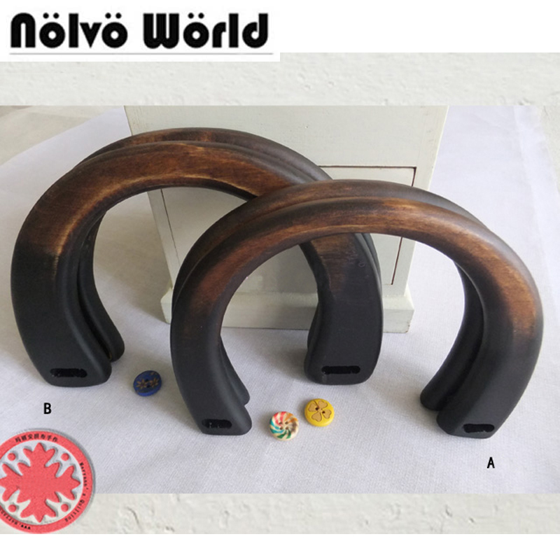 все цены на 5 pairs=10 pieces,14.2X11.5cm,18.8X12.3cm Birch tree Wooden handle for knit bags,Retro solid wood DIY bags 1.3cm thicken handle онлайн
