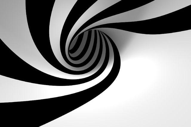 Tienda Online DIY marco 3D vista abstracto blanco y negro ...