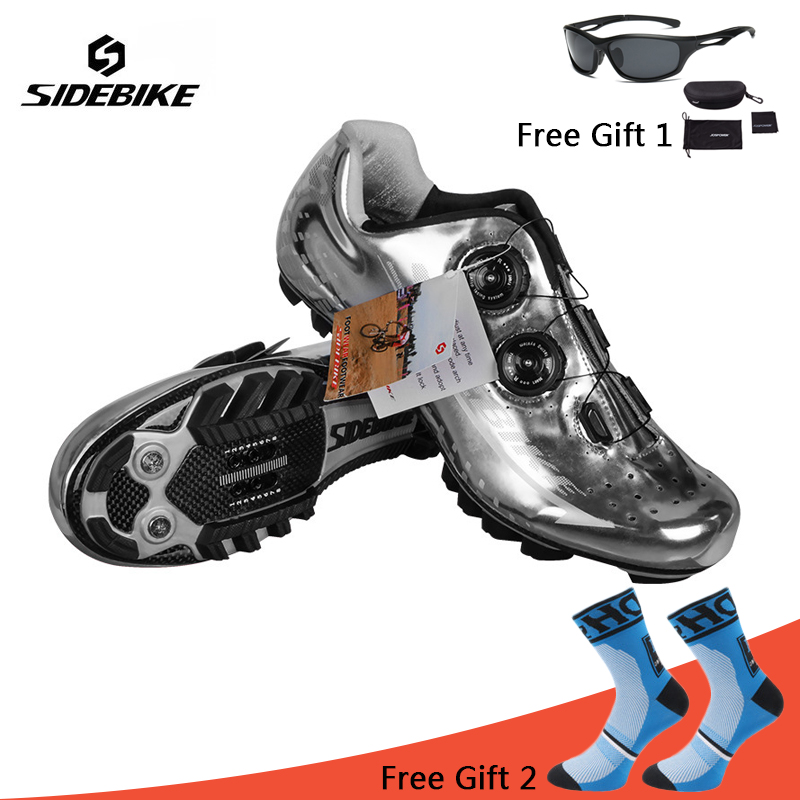 Sidebike Cycling Shoes Carbon Fiber Men Professional Autolock Bike Shoes MTB Racing Athletic Bicycle Shoes zapatillas ciclismo new sidebike breathable carbon athletic cycling shoes bike bicycle shoes racing mtb shoes zapatillas zapato ciclismo