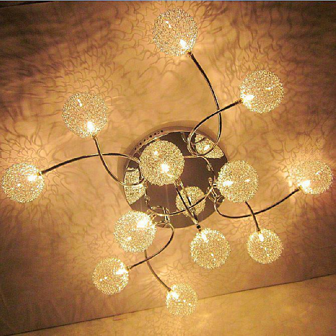 Lamp Fashion Led Ceiling Light Living Room Lights Modern Brief Bedroom Restaurant Aisle